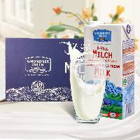 奥地利进口--格梦顿全脂纯牛奶1L*12