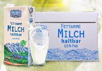奥地利进口---格梦顿部分脱脂纯牛奶1L*12