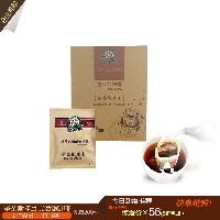 滴漏式挂耳摩卡咖啡进口豆无糖现磨纯黑咖啡粉10g*10包