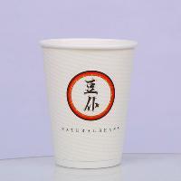 双层格格杯 精致咖啡纸杯