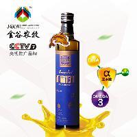 500mL瓶装冷榨、初榨亚麻籽油厂家直供 亚麻酸含量高
