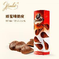 Hamlet焦糖味牛奶巧克力臻脆薄片125g