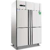 冰立方四门冰箱F4 不锈钢四门全冷冻柜