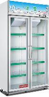万宝牌立式双门超市便利店饮料冷藏展示柜