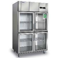 冰立方四门冷藏展示柜S1.0G4玻璃门冷柜
