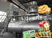苹果脆真空油浴脱水干燥机   全自动苹果深加工设备