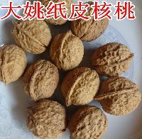 云南纸皮核桃 老树老品种人府农特产长期批发薄壳山核桃伊