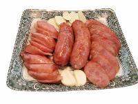 台湾烤肠 台湾香肠 纯肉肠 500g/箱
