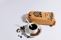 圣朵斯巴西咖啡豆进口烘焙新鲜可现磨纯黑咖啡粉 454g