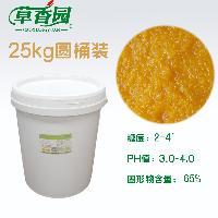 25kg圆桶装 清水柑橘囊胞 柑桔粒 粒粒橙 果粒橙原料 全年供货
