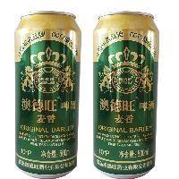 500ml*12罐 澳德旺麦香10度啤酒