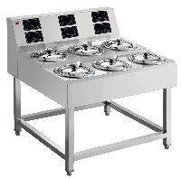 順艺智能紫砂煲仔饭机单层6头数码煲仔炉