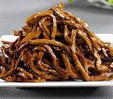 新型千页豆腐黄金丝技术培训,卤制香辣千页豆腐丝技术