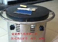 捷特牌双灶头煎饼机