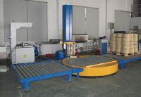 上海徳目全自动托盘在线式缠绕机配套流水线缠绕膜机包邮