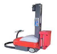 上海徳目自走式缠绕包装机小机器人缠绕膜机包邮
