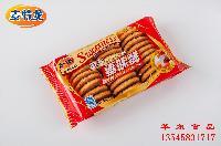 麦特龙曲奇饼干生产厂家直销袋装饼干批发