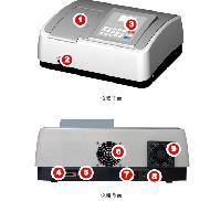 uv-1800紫外可见分光光度计厂家低价