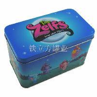 铁盒定做 马口铁长方形铁罐 食品包装铁盒