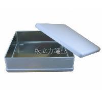 定做 230月饼铁盒 正方形大圆角月饼罐
