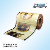 食品PE自动包装用复合膜,食品包装卷膜