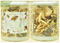 大地生机 综合菌菇脆片 杏鲍菇秀珍菇海鲜菇香菇蔬果