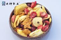 祺神水果干脆片批发即食密封绿色健康休闲零食果蔬干