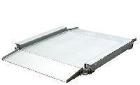 不锈钢双斜坡超低防水电子平台秤地磅