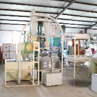 高效电动石磨磨面机制粉机组多少钱