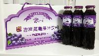 伊春特产隆广川牌蓝莓果汁吉祥蓝莓果汁饮料300ml