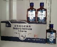 伊春特产隆广川蓝莓果酒野生蓝莓健康酒125ml