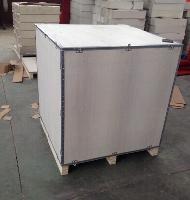 出口包装箱免熏蒸托盘钢带木箱