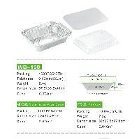 7650/WB-190一次性外卖铝箔快餐盒