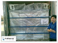 食品级集装箱内衬袋,PAM粉末集装箱用干粉袋