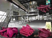 地瓜脆真空油浴脱水干燥机,全自动红薯深加工设备