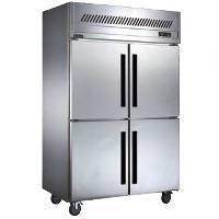 贝柯四门冰箱BCD1.0L4 不锈钢四门双温冰柜