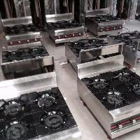 商用煲仔炉4头多头燃气灶具多功能低汤灶