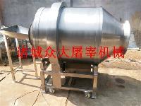 滚筒式酱菜拌料机 花生米 小咸鱼 鸡腿鸡翅全自动搅拌机厂家