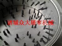 各种型号不锈钢鸡爪脱皮机 打爪打油机 鸡爪去黄皮