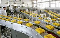 食品机械设备 油炸方便面刀削面生产线油炸