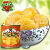 莱维尔新鲜桔子罐头312g×12罐 出口品