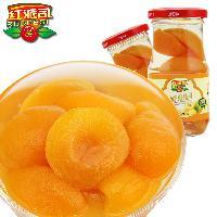 红派司新鲜黄桃罐头425g×1罐 出口品