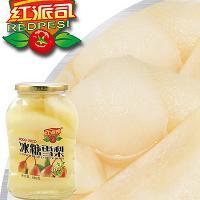 红派司新鲜糖水雪梨罐头680g 出口品质 支持