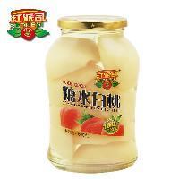 红派司水果罐头 680玻璃瓶