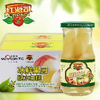 *超市礼盒包装白桃罐头245g×12瓶