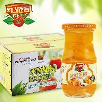 红派司245×12瓶黄桃罐头礼盒包装 出