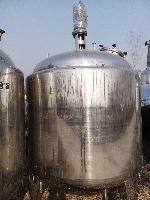 二手3吨生物发酵罐-316不锈钢材质发酵设备