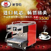LU-1G出口商用单头半咖啡机半自动咖啡