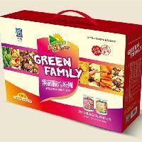 祺神果蔬干脆片礼盒装即食密封绿色健康休闲孕妇零食中秋送礼佳品