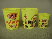 5安士橡皮泥杯,泥杯出口,玩具杯